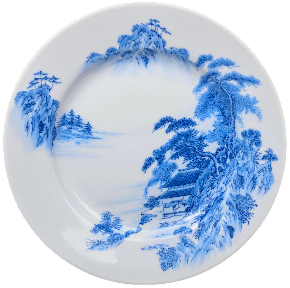 Тарелка обеденная Дулевский фарфор Азия, 24 смFS-91909Посуду можно использовать в СВЧ и мыть в посудомоечных машинах. Не рекомендуется использовать абразивные моющие средства.