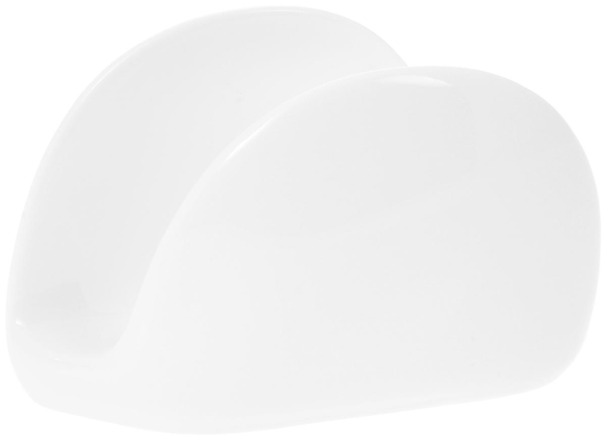 Салфетница Wilmax, 11 х 8 х 3 см54 009312Оригинальная салфетница Wilmax выполнена из высококачественного фарфора. Такая салфетница не только великолепно украсит праздничный или обеденный стол, но и станет отличным подарком.Можно мыть в посудомоечной машине.