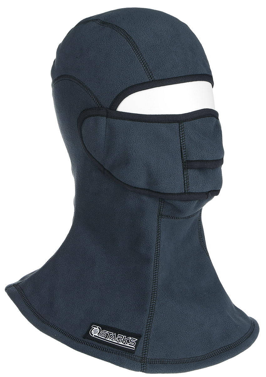 Подшлемник Starks Fleece Collar Open, с защитой шеи, цвет: серый. Размер L/XLMP0005Подшлемник Starks Fleece Collar Open предназначен для использования в условиях экстремального холода. Съемная лицевая часть позволяет легко открывать лицо. Подшлемник выполнен из высококачественного полиэстера. Изделие обеспечивает полную защиту лица и шеи от проницания влаги, холода, пыли. Снаружи и внутри флисовый ворс, который обеспечивает терморегуляцию, сохранение тепла, отведение влаги от лица к мембране и последующее выведение наружу. Защитная дышащая мембрана работает в обе стороны - изнутри сохраняет тепло, выводит влагу.Высота подшлемника: 45 см.Диаметр основания: 40 см.