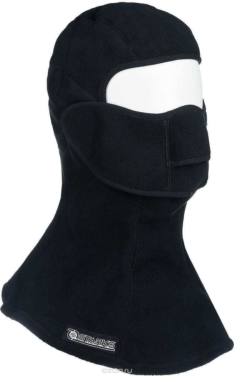 Подшлемник Starks Fleece Collar Open, с защитой шеи, цвет: черный. Размер L/XLЛЦ0020Подшлемник Starks Fleece Collar Open предназначен для использования в условиях экстремального холода. Съемная лицевая часть позволяет легко открывать лицо. Подшлемник выполнен из высококачественного полиэстера. Изделие обеспечивает полную защиту лица и шеи от проницания влаги, холода, пыли. Снаружи и внутри флисовый ворс, который обеспечивает терморегуляцию, сохранение тепла, отведение влаги от лица к мембране и последующее выведение наружу. Защитная дышащая мембрана работает в обе стороны - изнутри сохраняет тепло, выводит влагу.
