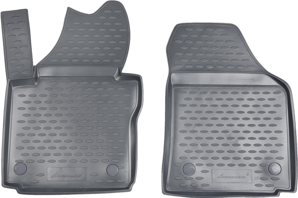 Коврики в салон автомобиля Novline-Autofamily, для Volkswagen Caddy 10/2007->, 2 шт62305002Коврики в салон Novline-Autofamily не только улучшат внешний вид салона вашего автомобиля, но и надежно уберегут его от пыли, грязи и сырости, а значит, защитят кузов от коррозии. Полиуретановые коврики для автомобиля гладкие, приятные и не пропускают влагу. Автомобильные коврики в салон учитывают все особенности каждой модели и полностью повторяют контуры пола. Благодаря этому их не нужно будет подгибать или обрезать. И самое главное - они не будут мешать педалям.Полиуретановые автомобильные коврики для салона произведены из высококачественного материала, который держит форму и не пачкает обувь. К тому же, этот материал очень прочный (его, к примеру, не получится проткнуть каблуком).Некоторые автоковрики становятся источником неприятного запаха в автомобиле. С полиуретановыми ковриками Novline-Autofamily вы можете этого не бояться.Коврики для автомобилей надежно крепятся на полу и не скользят, что очень важно во время движения, особенно для водителя.Коврики из полиуретана надежно удерживают грязь и влагу, при этом всегда выглядят довольно опрятно. И чистятся они очень просто: как при помощи автомобильного пылесоса, так и различными моющими средствами.