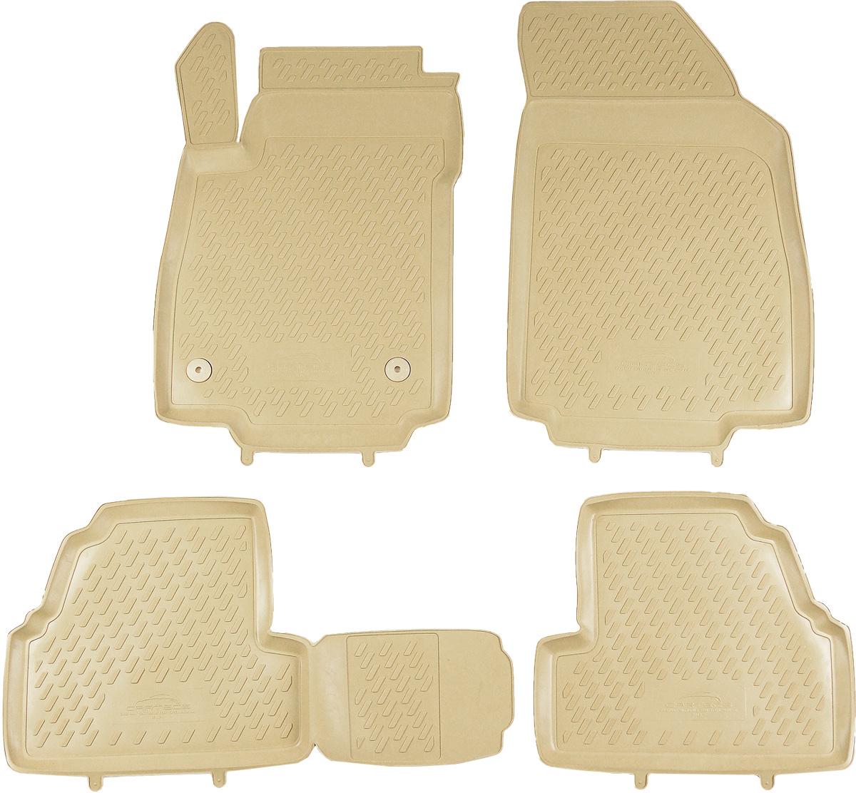 Коврики в салон автомобиля Novline-Autofamily, для Opel Mokka 2012->, 4 шт54 009312Коврики в салон Novline-Autofamily не только улучшат внешний вид салона вашего автомобиля, но и надежно уберегут его от пыли, грязи и сырости, а значит, защитят кузов от коррозии. Полиуретановые коврики для автомобиля гладкие, приятные и не пропускают влагу. Автомобильные коврики в салон учитывают все особенности каждой модели и полностью повторяют контуры пола. Благодаря этому их не нужно будет подгибать или обрезать. И самое главное - они не будут мешать педалям.Полиуретановые автомобильные коврики для салона произведены из высококачественного материала, который держит форму и не пачкает обувь. К тому же, этот материал очень прочный (его, к примеру, не получится проткнуть каблуком).Некоторые автоковрики становятся источником неприятного запаха в автомобиле. С полиуретановыми ковриками Novline-Autofamily вы можете этого не бояться.Коврики для автомобилей надежно крепятся на полу и не скользят, что очень важно во время движения, особенно для водителя.Коврики из полиуретана надежно удерживают грязь и влагу, при этом всегда выглядят довольно опрятно. И чистятся они очень просто: как при помощи автомобильного пылесоса, так и различными моющими средствами.