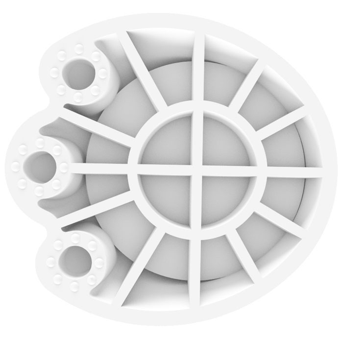 Good Foot GF-1, White комплект антивибрационных лапок для стиральной машиныFTN 07Комплект антивибрационных лапок Good Foot GF-1 значительно снижает вибрацию при работе стиральной или посудомоечной машины, благодаря специальной конструкции с ребрами жесткости. Лапки помогут снизить шум, производимый работающей стиральной или посудомоечной машиной, и продлить срок их эксплуатации.Для ножек диаметром до 45 ммНагрузка: 100 кгПодходят для посудомоечных, стиральных машин или холодильниковВ комплекте 4 лапки-подставки