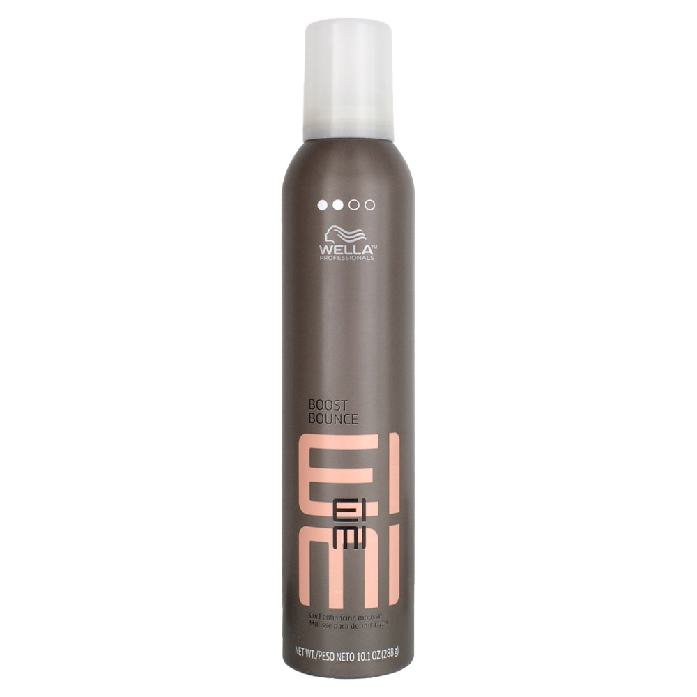 Wella Пена для создания локонов EIMI Boost Bounce, 300 млMP59.4DBoost Bounce - Пена для создания локоновПридайте волосам упругость, сильную фиксацию и очаровательный блеск, создавая локоны идеальной формы.Содержит ухаживающие компоненты, которые защищают волосы от воздействия высоких температур во время укладки.Улучшенная формула для более устойчивой и воздушной фиксации.Объем надолго.