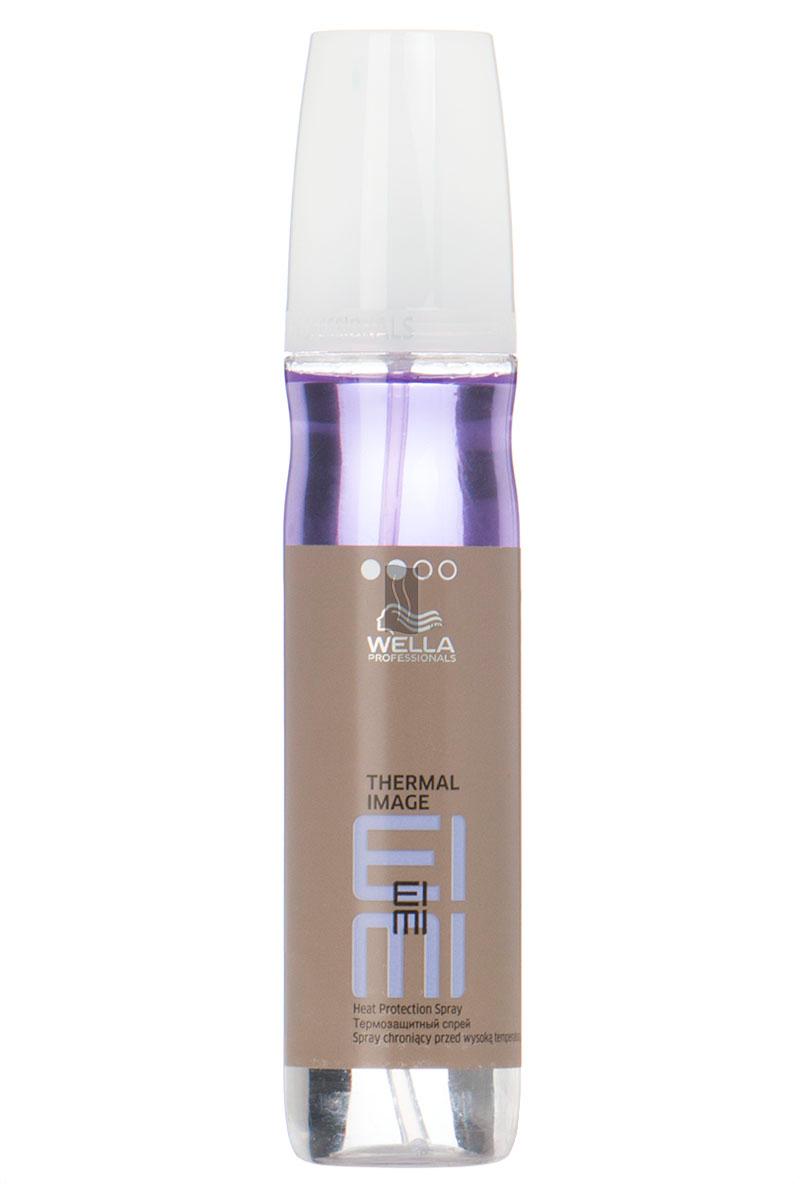 Wella Термозащитный спрей EIMI Thermal Image, 150 млFS-00897Степень фиксации термозащитного спрея 2. Он позволит добавить волосам гладкость, упругость, блеск, обеспечит отличную фиксацию при создании локонов или выпрямлении волос.