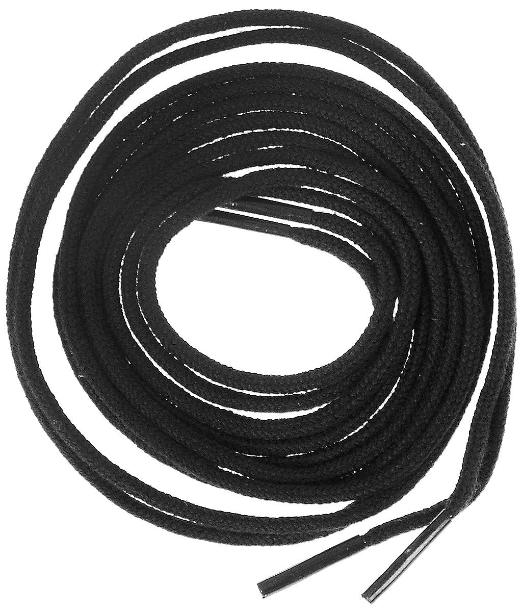 Шнурки тонкие Collonil Rund, цвет: черный, длина 90 см391602Тонкие шнурки Collonil Rund изготовлены из 75% хлопка и 25% полиамида. Крепкие и удобные шнурки являются неотъемлемым аксессуаром и подходят для ношения модельной или предназначенной для отдыха и туризма обуви. Подходят для обуви с двенадцатью отверстиями.
