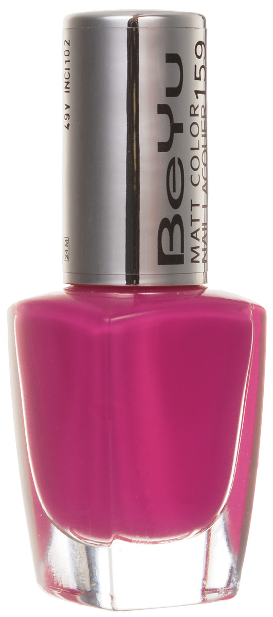 BeYu Лак для ногтей с матовым эффектом Matt Color Nail Lacquer 159 9 мл28032022Новый лак для ногтей с модным матовым финишем! Идеально матовое покрытие и насыщенные оттенки.