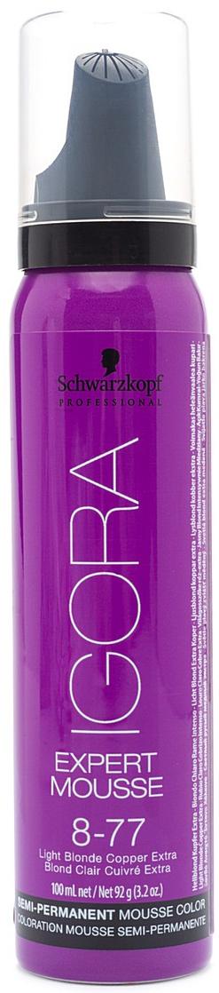 Igora Expert Mousse - Тонирующий мусс 8-77 для волос Светлый русый медный экстра 100 млSatin Hair 7 BR730MNЗамечательное средство подарит вашим локонам изумительный, глубокий цвет. Продукт позаботится о здоровье волос, укрепив их, сделав крепкими и эластичными. Мусс не проникает в структуру, а лишь обволакивает их и постепенно смывается. Роскошные, ухоженные, с великолепным насыщенным цветом. Крепкие, послушные и шелковистые. Именно такими ваши волосы сделает тонирующий мусс от Schwarzkopf. Замечательное средство подарит вашим локонам изумительный, глубокий цвет. Продукт позаботится о здоровье волос, укрепив их, сделав крепкими и эластичными. Представленный мусс окутает ваши локоны бесподобным цветом. Самое главное, что для этого вам нужно лишь нанести средство на волосы и подождать пять минут. Если желаете получить более насыщенный оттенок – двадцать минут. В отличие от краски для волос, мусс не проникает в структуру, а лишь обволакивает их и постепенно смываетсяПриобретите тонирующий мусс от Schwarzkopf, и он в считанные мгновения подарит вашим волосам роскошный цвет, сделав их еще краше.
