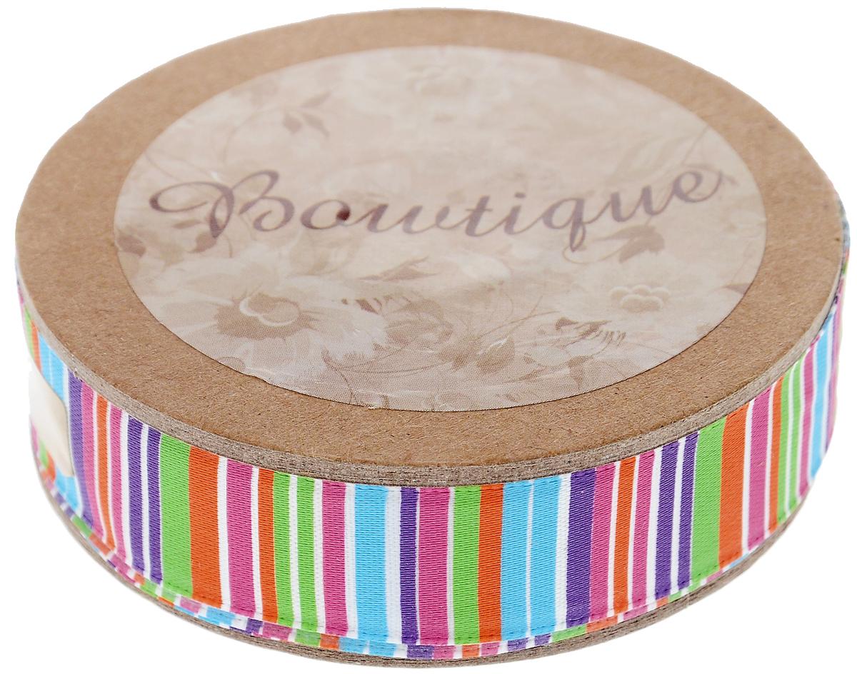 Лента атласная Hemline Полоски, 1,5 х 500 см09840-20.000.00Лента на картонной катушке Hemline Полоски выполнена из гладкого и шелковистого полиэстера. Такая лента идеально подойдет для оформления различных творческих работ, может использоваться для скрапбукинга, создания аппликаций, декора коробок и открыток, часто ее применяют при пошиве одежды, сумок, аксессуаров. Лента наивысшего качества практична в использовании. Она станет незаменимым элементом в создании вашего рукотворного шедевра.