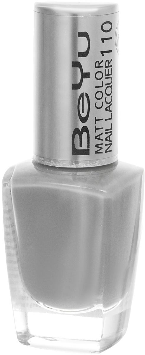 BeYu Лак для ногтей с матовым эффектом Matt Color Nail Lacquer 110 9 мл80284338Новый лак для ногтей с модным матовым финишем! Идеально матовое покрытие и насыщенные оттенки.