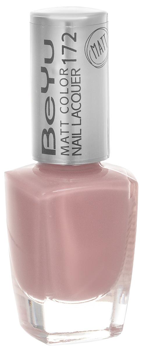 BeYu Лак для ногтей с матовым эффектом Matt Color Nail Lacquer 172 9 мл28032022Новый лак для ногтей с модным матовым финишем! Идеально матовое покрытие и насыщенные оттенки.