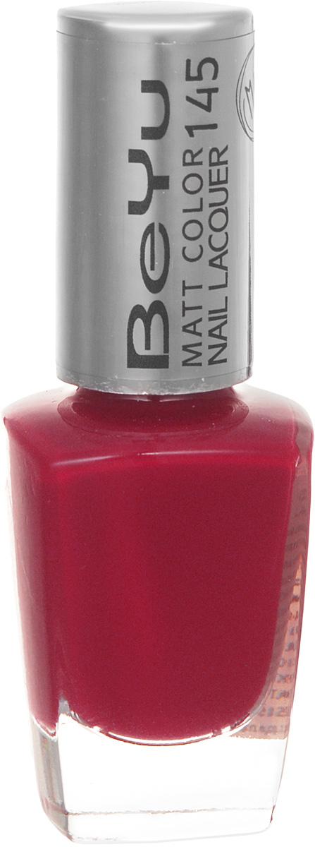 BeYu Лак для ногтей с матовым эффектом Matt Color Nail Lacquer 145 9 млWS 7064Новый лак для ногтей с модным матовым финишем! Идеально матовое покрытие и насыщенные оттенки.