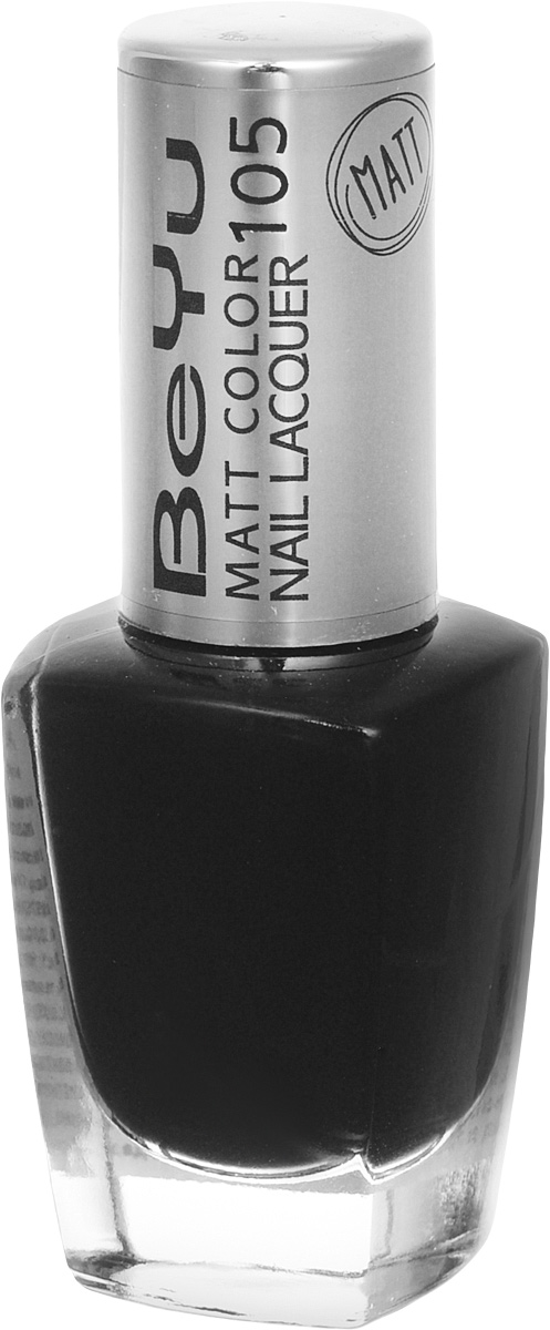 BeYu Лак для ногтей с матовым эффектом Matt Color Nail Lacquer 105 9 млSC-FM20104Новый лак для ногтей с модным матовым финишем! Идеально матовое покрытие и насыщенные оттенки.