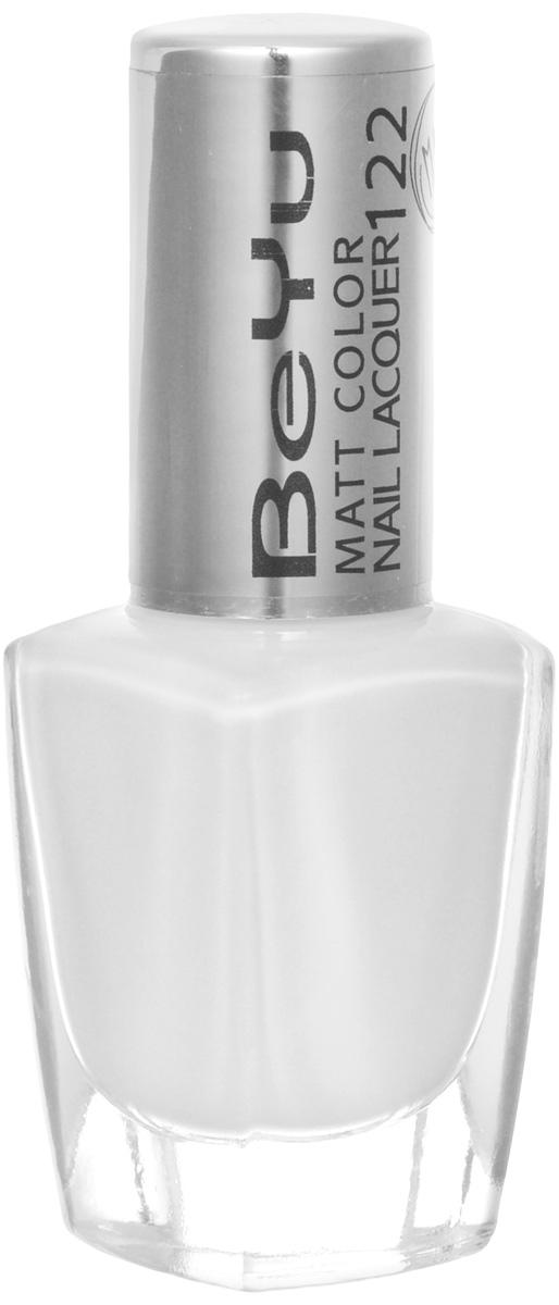 BeYu Лак для ногтей с матовым эффектом Matt Color Nail Lacquer 122 9 мл2101-WX-01Новый лак для ногтей с модным матовым финишем! Идеально матовое покрытие и насыщенные оттенки.