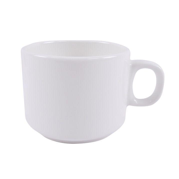 Чашка чайная Ariane Джульет, 200 млAJLARN43020Чайная чашка Ariane Джульет выполнена из высококачественного фарфора с глазурованным покрытием. Изделие оснащено удобной ручкой.Уникальный состав сырья, новейшие технологии и контроль качества гарантируют: снижение риска сколов, повышение термической и механической прочности, высокую сопротивляемость шоковым воздействиям, высокую устойчивость к истиранию, устойчивость к царапинам, гладкий и блестящий внешний вид, абсолютную функциональность, относительную безопасность в случае боя, защиту от деформации.Нежнейший дизайн и белоснежность изделия дарят ощущение легкости и безмятежности. Изысканная чашка прекрасно оформит стол к чаепитию и станет его неизменным атрибутом.Можно мыть в посудомоечной машине и использовать в СВЧ без потери внешнего вида.