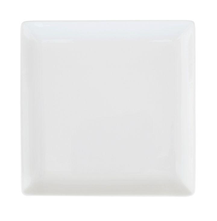 Тарелка Ariane Джульет, с приподнятым краем, 14 х 14 смFS-91909Оригинальная тарелка Ariane Джульет изготовлена из высококачественного фарфора с глазурованным покрытием. Изделие квадратной формы идеально подходит для сервировки закусок и других блюд. Такая тарелка прекрасно впишется в интерьер вашей кухни и станет достойным дополнением к кухонному инвентарю. Можно мыть в посудомоечной машине и использовать в микроволновой печи.