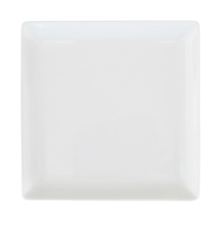 Тарелка Ariane Джульет, с приподнятым краем, 27 х 27 смFS-91909Оригинальная тарелка Ariane Джульет изготовлена из высококачественного фарфора с глазурованным покрытием. Изделие квадратной формы идеально подходит для сервировки закусок и других блюд. Такая тарелка прекрасно впишется в интерьер вашей кухни и станет достойным дополнением к кухонному инвентарю. Можно мыть в посудомоечной машине и использовать в микроволновой печи.