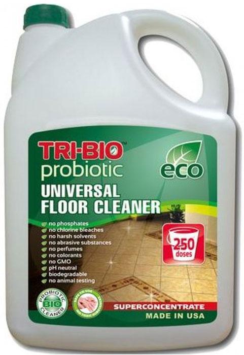 Биосредство для мытья полов Tri-Bio, 4,4 лHD-8000SXБиосредство Tri-Bio эффективно моет любые виды полов - линолеум, камень, керамическую плитку, ламинит, паркет, и т. п., не оставляя разводов. Справится даже с самыми сильными загрязнениями. Ликвидирует неприятные запахи. Обладает освежающим эффектом. Бережно ухаживает за полом, продлевая срок его службы. В отличие от стандартных химических продуктов, легко проникает в швы, позволяет обеспечить более длительный контроль запаха и более глубокую чистку.Особенности биосредства Tri-Bio для здоровья:Без фосфатов, без растворителей, без хлора отбеливающих веществ, без абразивных веществ, без отдушек, без красителей, без токсичных веществ, нейтральный pH, гипоаллергенно. Безопасная альтернатива химическим аналогам. Присвоен сертификат ECO GREEN. Рекомендуется для людей склонных к аллергическим реакциям и страдающих астмой.Особенности биосредства Tri-Bio для окружающей среды:низкий уровень ЛОС, легко биоразлагаемо, минимальное влияние на водные организмы, рециклируемые упаковочные материалы, не испытывалось на животных. Особо рекомендуется использовать в домах с автономной канализацией.Способ применения:Хорошо взболтайте средство. Разбавьте 2 колпачка (25 мл) на 5 л воды и вымойте этим раствором пол. Нет необходимости споласкивать водой. Характеристики:Объем:4,4 л. Производитель:США. Артикул:0065.