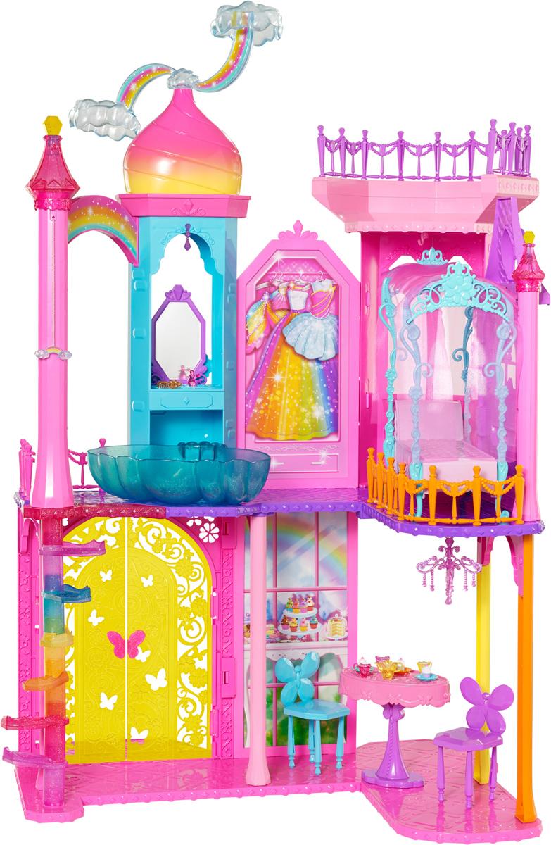 Barbie Дом для кукол Замок принцессы аксессуары для кукол barbie одежда весна