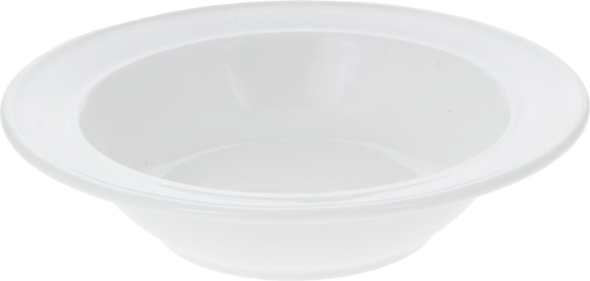 Салатник Wilmax, 200 мл115510Салатник Wilmax, изготовленный из фарфора с глазурованным покрытием, прекрасно подойдет дляподачи различных блюд: закусок, салатов или фруктов. Фарфор от Wilmax изготовлен по уникальному рецепту из сплава магния и алюминия, благодаря чему посуда обладает характерной белизной, прочностью и устойчивостью к сколами. Особый состав глазури обеспечивает гладкость и блеск поверхности изделия.Такой салатник украсит ваш праздничный или обеденный стол, а оригинальный дизайн придется по вкусу и ценителям классики, и тем, кто предпочитает утонченность и изысканность.Можно мыть в посудомоечной машине и использовать в микроволновой печи. Изделие пригодно для использования в духовых печах и выдерживает температуру до 300°С.