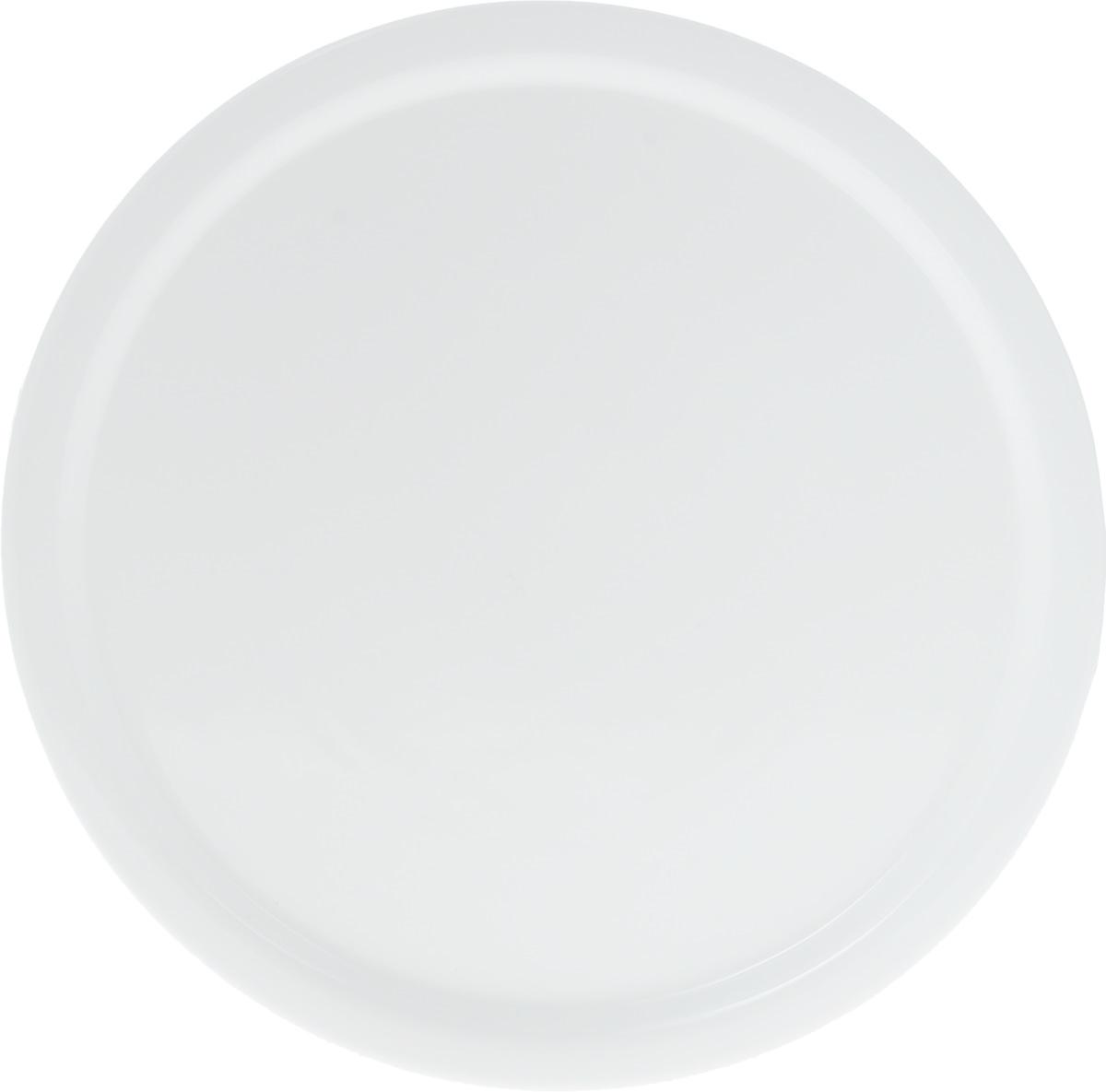 Блюдо для пиццы Wilmax, диаметр 35,5 см219031105Оригинальное круглое блюдо Wilmax, изготовленное из фарфора с глазурованным покрытием, идеально подойдет для подачи пиццы, а также других блюд. Оно украсит ваш кухонный стол, а также станет замечательным подарком к любому празднику.