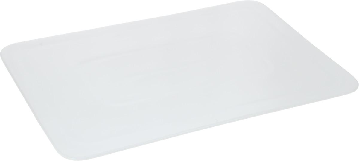 Блюдо Wilmax, 35,5 х 25 см115510Оригинальное прямоугольное блюдо Wilmax, изготовленное из фарфора с глазурованным покрытием, прекрасно подойдет для подачи нарезок, закусок и других блюд. Оно украсит ваш кухонный стол, а также станет замечательным подарком к любому празднику.Размер блюда: 35,5 х 25 см.