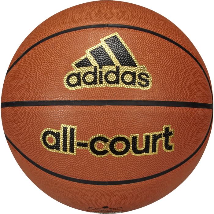 Мяч баскетбольный adidas Performance All court, цвет: оранжевый. X35859120330_white/redМяч All court adidas Performance покрыт прочной резиной и отлично подходит для игры как на улице, так и в зале.