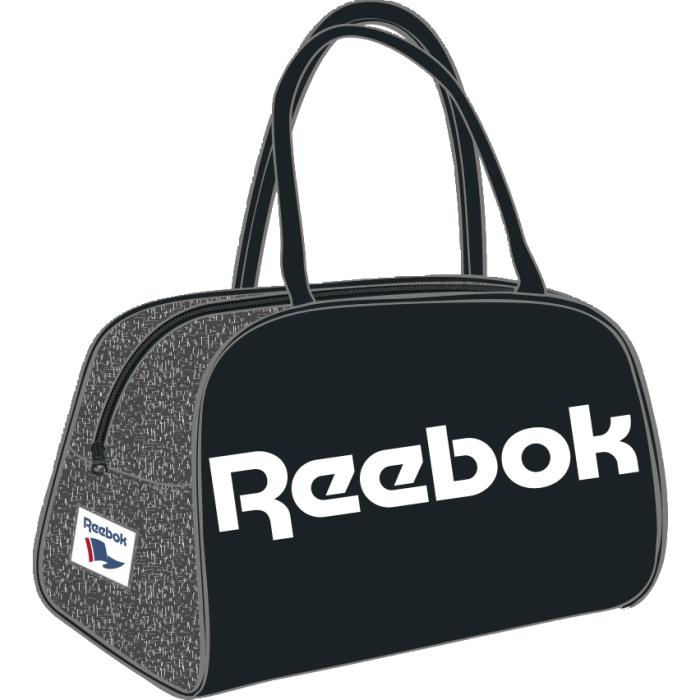 Сумка городская Reebok Cloudfoam Race, цвет: черный. AX9942AX9942Сумка Reebok Cloudfoam Race выполнена из прочных материалов. У модели классический дизайн и объемный логотип Reebok. Двойная ручка для удобного ношения в руке. Тканый принт в виде флага и логотип Reebok эффектно дополнят твой образ.