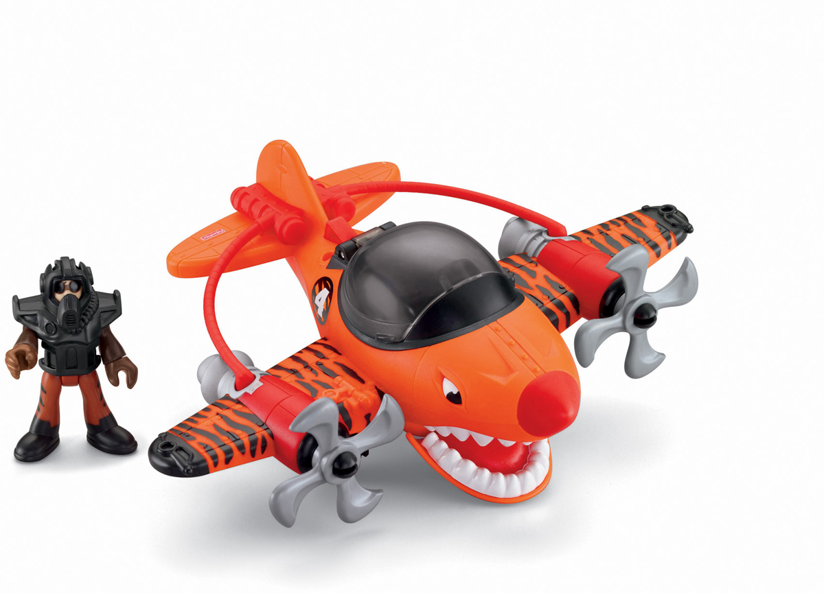 Imaginext Самолет Летающий тигр - Транспорт, машинки