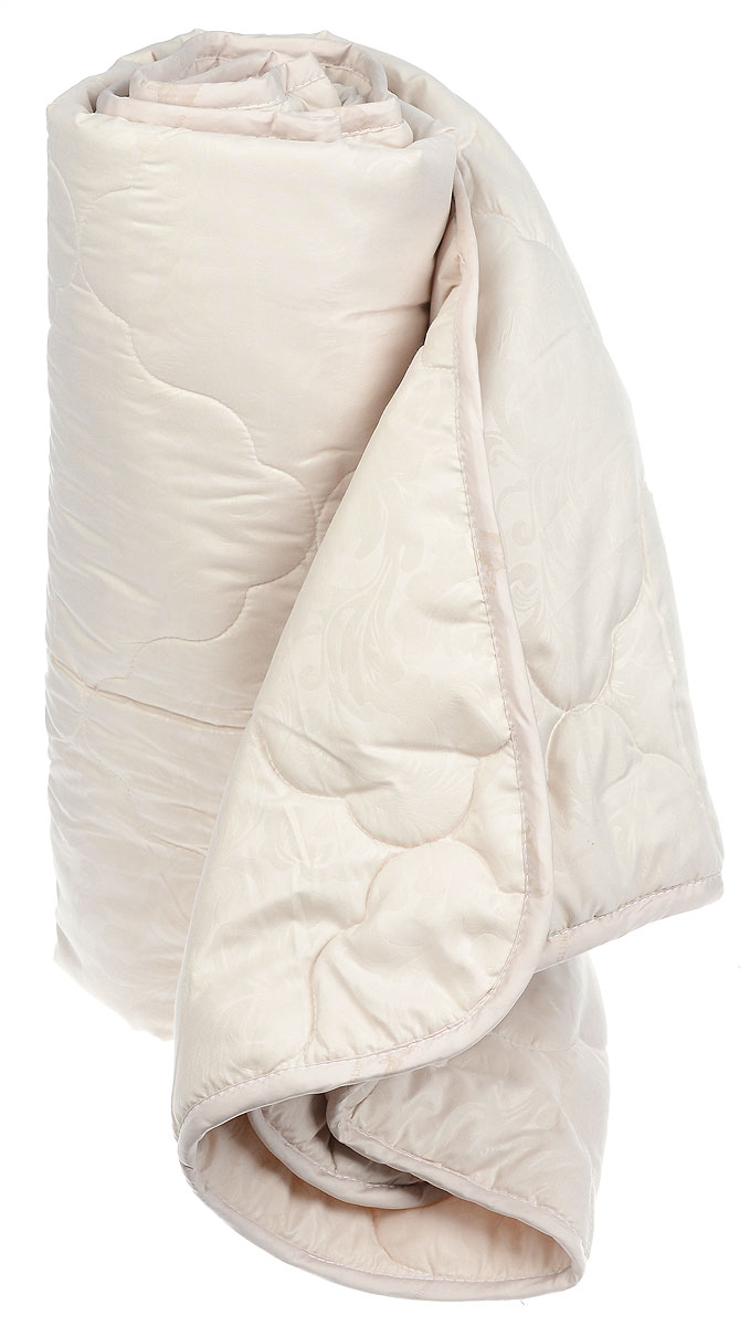 Одеяло Sova & Javoronok Бамбук, наполнитель: бамбуковое волокно, цвет: бежевый, 172 х 205 см10503Одеяло Sova & Javoronok Бамбук подарит комфорт и уют во время сна. Чехол, выполненный из микрофибры (100% полиэстера), оформлен стежкой и надежно удерживает наполнитель внутри. Волокно на основе бамбука - инновационный наполнитель, обладающий за счет своей пористой структуры хорошей воздухонепроницаемостью и высокой гигроскопичностью, обеспечивает оптимальный уровень влажности во время сна и создает чувство прохлады в жаркие дни.Антибактериальный эффект наполнителя достигается за счет содержания в нем специального компонента, а также за счет поглощения влаги, что создает сухой микроклимат, препятствующий росту бактерий. Основные свойства волокна: - хорошая терморегуляция, - свободная циркуляция воздуха, - антибактериальные свойства, - повышенная гигроскопичность, - мягкость и легкость, - удобство в эксплуатации и легкость стирки. Рекомендации по уходу: - Стирка запрещена. - Не отбеливать, не использовать хлоросодержащие моющие средства и стиральные порошки с отбеливателями.- Не выжимать в стиральной машине.- Чистка только с углеводородом, хлорным этиленом и монофтортрихлорметаном.Размер одеяла: 172 см х 205 см. Материал чехла: микрофибра (100% полиэстер). Материал наполнителя: бамбуковое волокно.