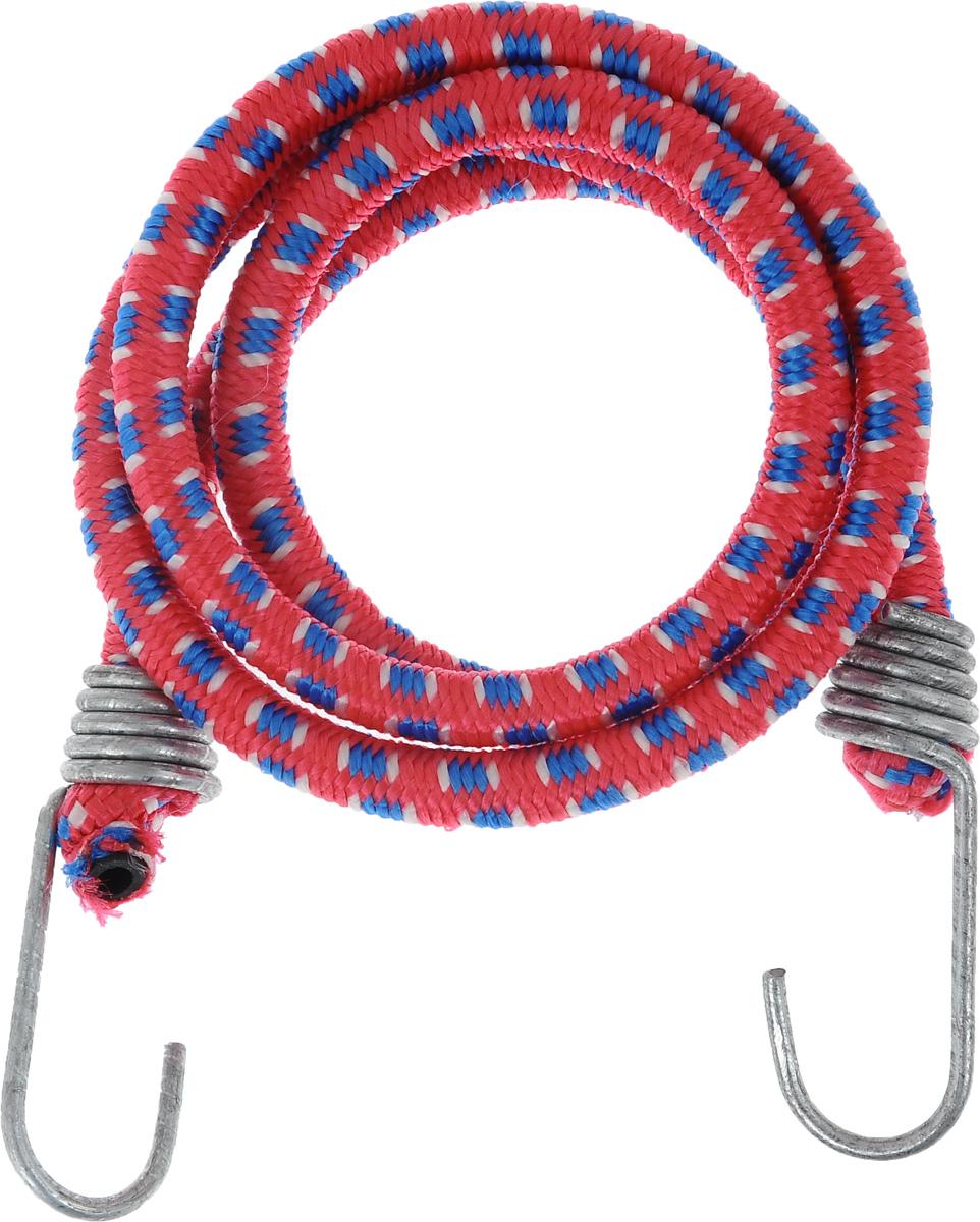 Резинка багажная МастерПроф, с крючками, цвет: красный, синий, белый, 1 х 110 смMAJESTIC 75014-1W ANTIQUEБагажная резинка МастерПроф, выполненная из натурального каучука, оснащена специальными металлическими крючками, которые обеспечивают прочное крепление и не допускают смещения груза во время его перевозки. Изделие применяется для закрепления предметов к багажнику. Такая резинка позволит зафиксировать как небольшой груз, так и довольно габаритный.Температура использования: -15°C до +50°C.Безопасное удлинение: 60%.Диаметр резинки: 1 см.Длина резинки: 110 см.