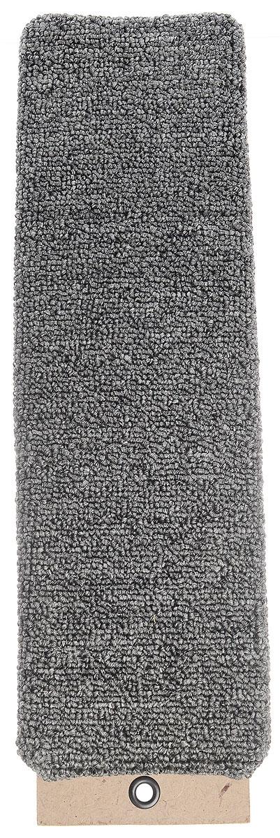 Когтеточка Меридиан, настенная, цвет: серый, 40 х 12,5 х 2,5 см0120710Настенная когтеточка Меридиан предназначена для стачивания когтей вашей кошки и предотвращения их врастания. Волокна ковролина обеспечивают естественный уход за когтями питомца. Когтеточка позволяет сохранить неповрежденными мебель и другие предметы интерьера.Длина когтеточки: 40 см.Длина рабочей части:38 см.