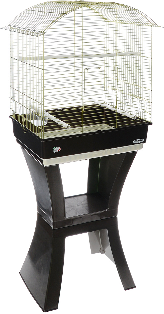 Клетка для птиц Imac Calla, на колесах и подставке, 62 х 43 х 78/150 см0120710Просторная клетка Imac Calla подходит для содержания птиц средних размеров. Изделие выполнено из высококачественного пластика и металла. В комплект входит: 4 кормушки, 3 жердочки, выдвижной пластиковый поддон для легкой уборки, подставка с колесиками.Подставка на колесиках позволит вам без проблем передвигать клетку в любое выбранное место.Такая клетка станет уютным домом для вашего попугая и прослужит ему много лет. Размер клетки (без подставки): 62 х 43 х 78 см.Размер клетки (с подставкой): 150 см.