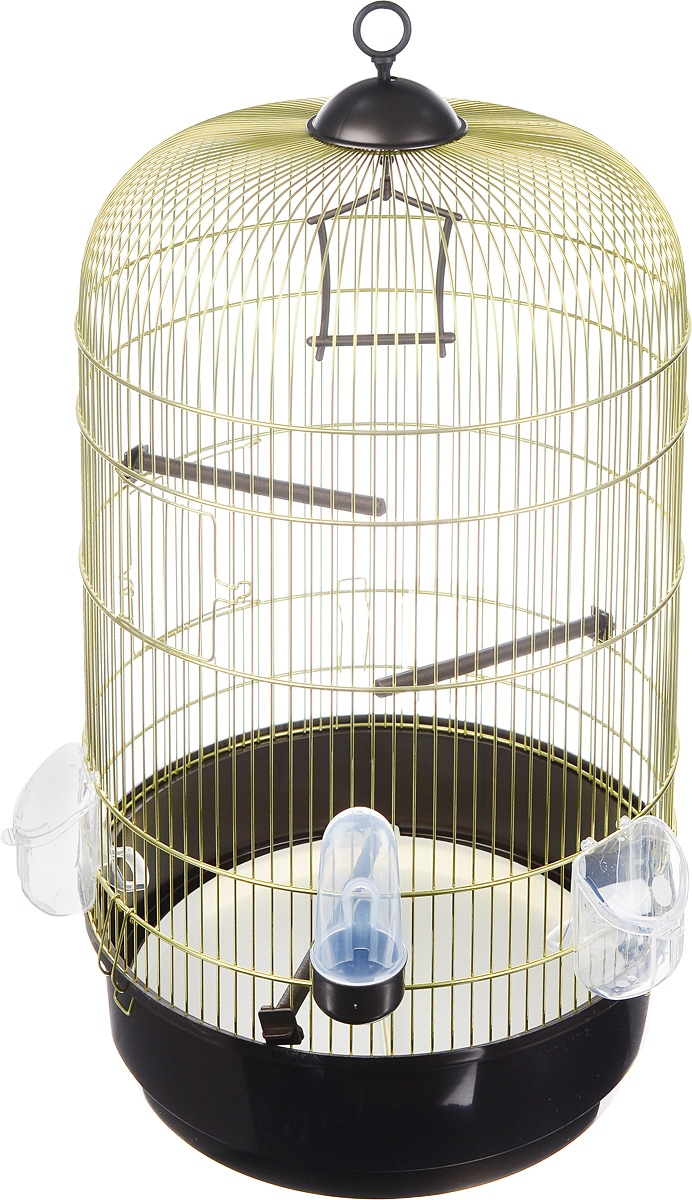 Клетка для птиц Imac Luna, 40 х 40 х 65 см0120710Стильная, круглая клетка Imac Luna станет любимым домом для маленьких домашних птиц и настоящим украшением вашей квартиры. Изделие оснащено выдвижным поддоном для удобной уборки. Клетку можно поставить или подвесить при помощи специального колечка на крыше. В комплект входит: 3 кормушки, поилка, 3 жердочки и качельки.Такая клетка станет уютным домом для вашего попугая и прослужит ему много лет.