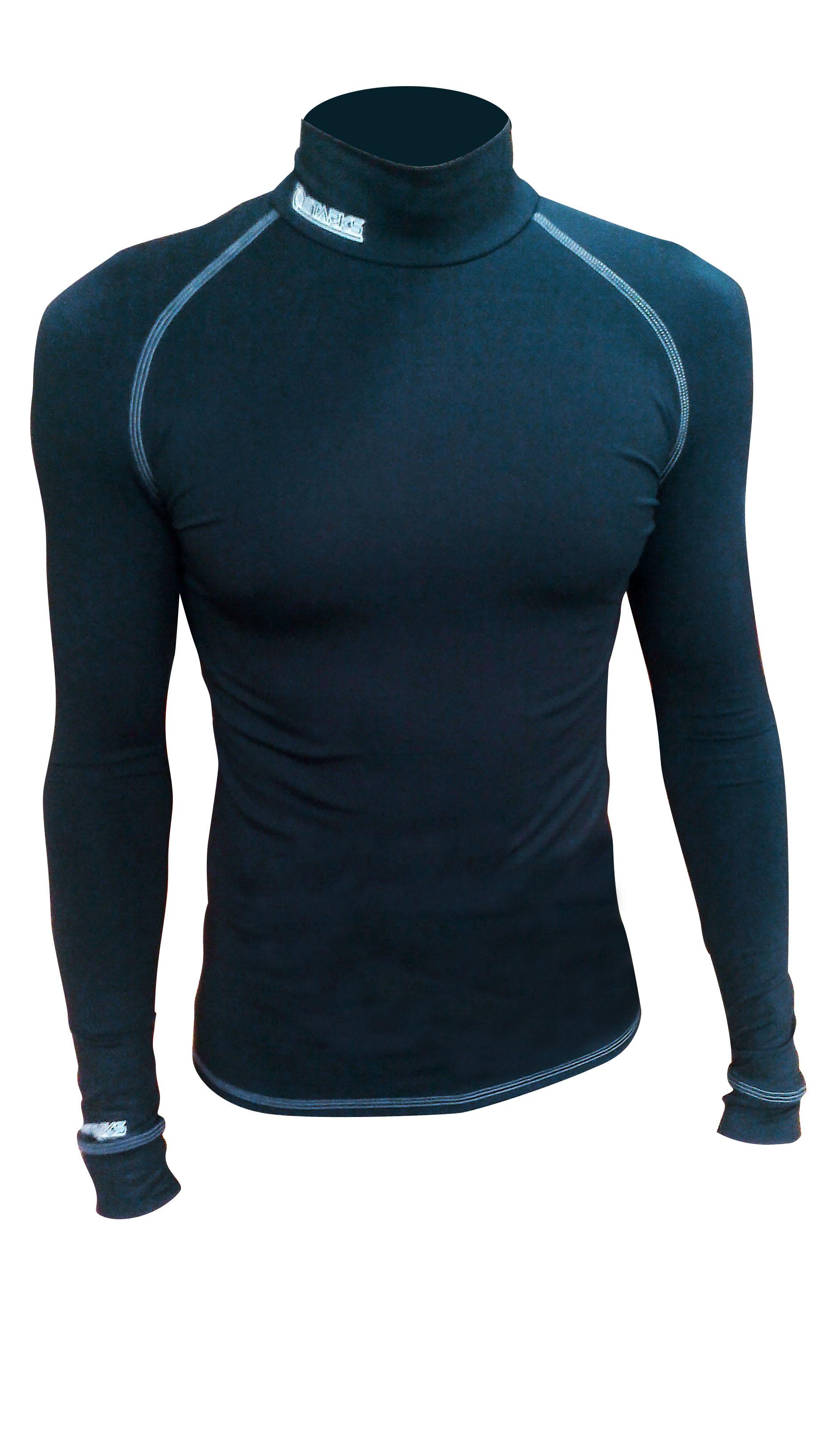Термобелье кофта мужская Starks Warm, зимняя, цвет: черный. ЛЦ0018. Размер Lone116Анатомическое термобелье Starks Warm, выполнено из европейской сертифицированной ткани PolarStretch. Высокие эластичные свойства материала позволяют белью максимально повторять индивидуальную анатомию тела, эффект второй кожи. Термокофта имеет отличные влагоотводящие свойства, что позволяет телу оставаться сухим. Высокие термоизоляционные свойства, позволяют исключить переохлаждение или перегрев. Воротник стойка обеспечивает защиту шеи от холода. Белье предназначено для активных физических нагрузок. Повседневное использование, в качестве демисезонного.Особенности:-Stop Bacteria.-Защита от перегрева или переохлаждения.-Эластичные, мягкие плоские швы.-Гипоаллергенно.Состав: 92% полиэстер, 8% эластан.