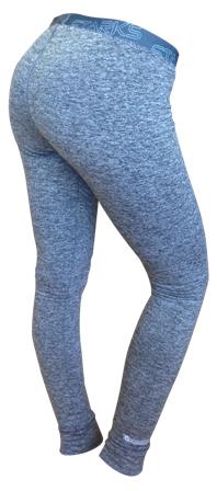 Термобелье брюки женские Starks Warm, зимние, цвет: серый. ЛЦ0023. Размер SKGB G-5Белье Starks Warm предназначено для активных физических нагрузок. Анатомические термобрюки, выполнены из европейской сертифицированной ткани PolarStretch. Высокие эластичные свойства материала позволяют белью максимально повторять индивидуальную анатомию тела, эффект второй кожи. Термобелье имеет отличные влагоотводящие свойства, что позволяет телу оставаться сухим. Высокие термоизоляционные свойства, позволяют исключить переохлаждение или перегрев. Повседневное использование, в качестве демисезонного.Особенности: -Stop Bacteria - ткань с ионами серебра, предотвращает образование и развитие бактерий.-Защита от перегрева или переохлаждения.-Система мягких и плоских швов.-Гипоаллергенно. Состав: 92% полиэстер, 8% эластан.