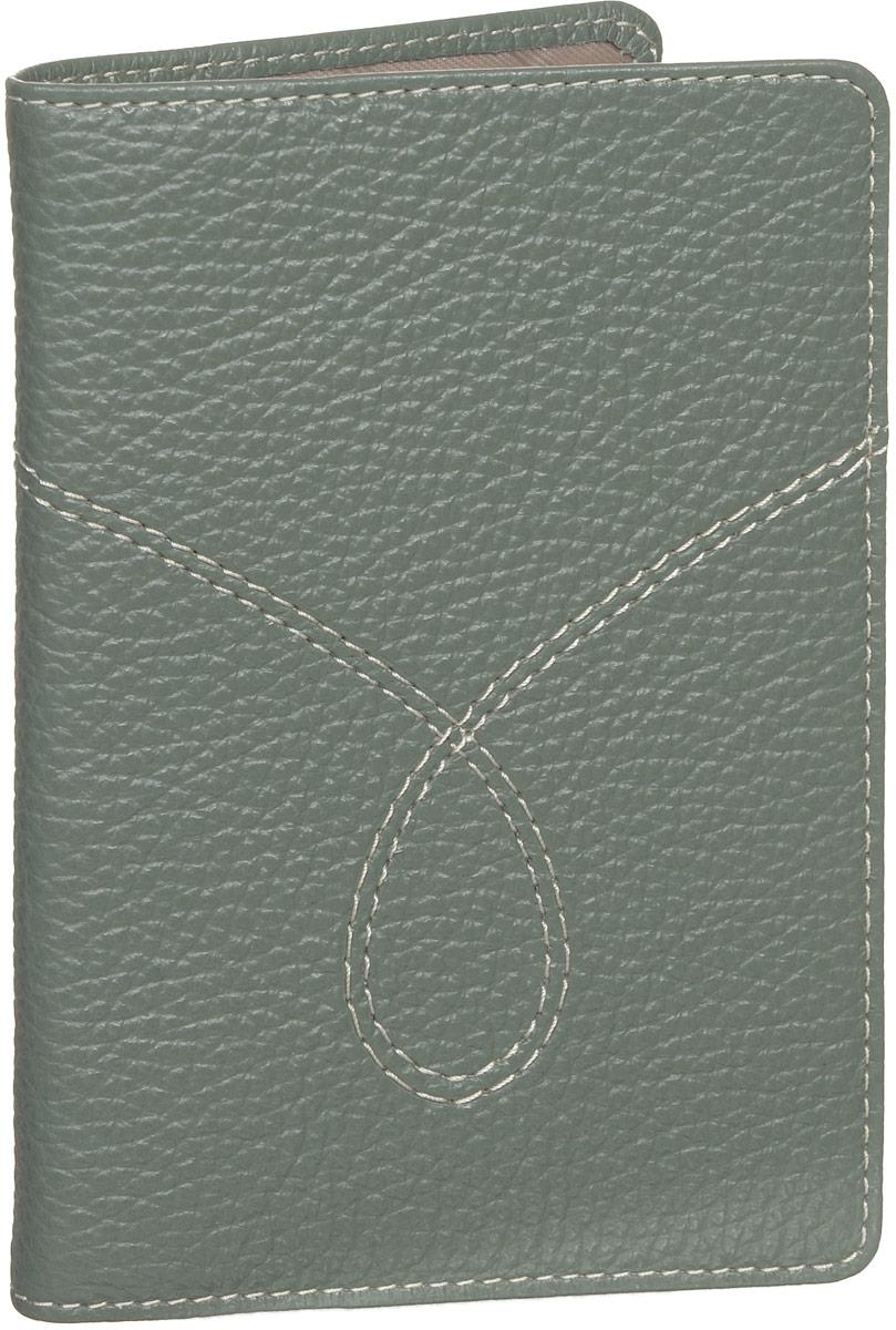 Обложка для паспорта женская Fabula Torrone, цвет: серо-зеленый. O.65.PMFBM151002Обложка для паспорта Fabula Torrone выполнена из натуральной кожи с зернистой фактурой и оформлена тиснением в виде символики бренда и контрастной отстрочкой. Подкладка изготовлена из полиэстера.Изделие раскладывается пополам. Внутри размещены два накладных кармашка из прозрачного ПВХ.Изделие поставляется в фирменной упаковке.Стильная обложка для паспорта Fabula Torrone станет отличным подарком для человека, ценящего качественные и практичные вещи.