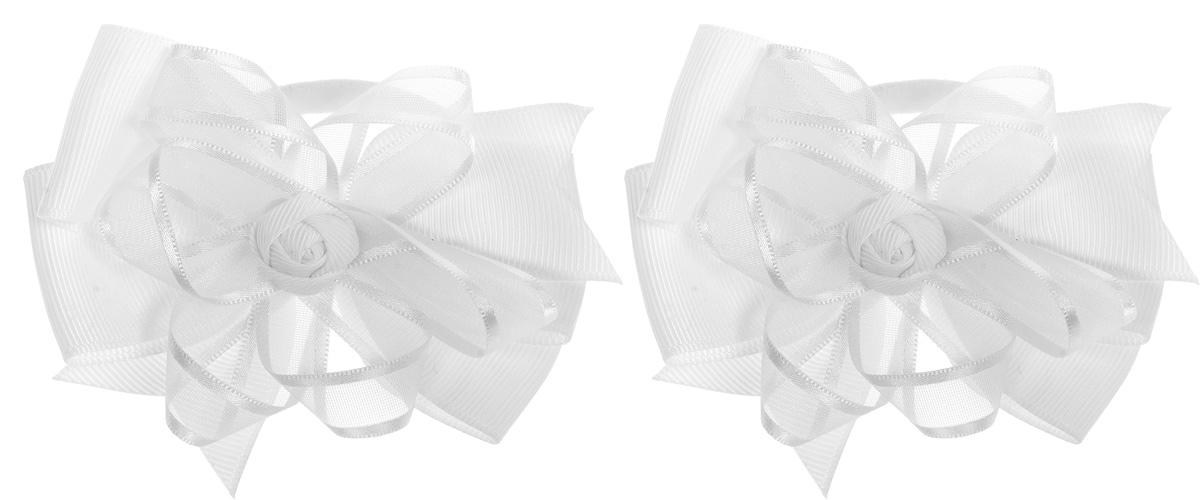 Babys Joy Резинка для волос Бант цвет белый 2 шт MN 141/2MP59.4DРезинка для волос Babys Joy Бант изготовлена из текстиля и дополнена милым бантиком.Резинка для волос подчеркнет уникальность вашей маленькой модницы и станет прекрасным дополнением к ее неповторимому стилю.В комплекте 2 резинки.Рекомендовано для детей старше трех лет.