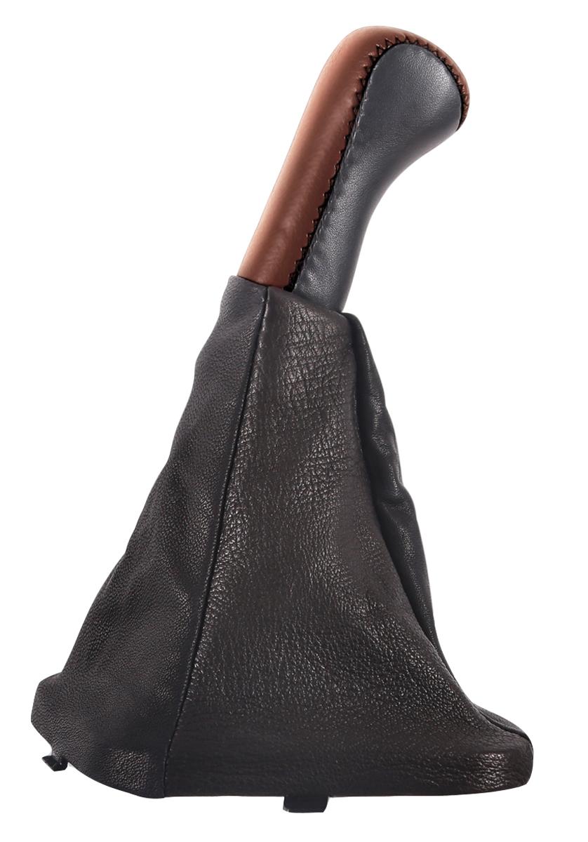 Ручка КПП Azard, для ВАЗ 2110, кожа, цвет: темно-коричневыйS04004003Пластиковая насадка ручки обшита натуральной кожей и дополненная декоративным сарафаном, полностью закрывающим стержень рычага КПП. Создает дополнительный комфорт во время вождения. Легко устанавливается в салоне автомобиля. Ручка КПП Azard износоустойчива и легко очищается мягкой тканью.
