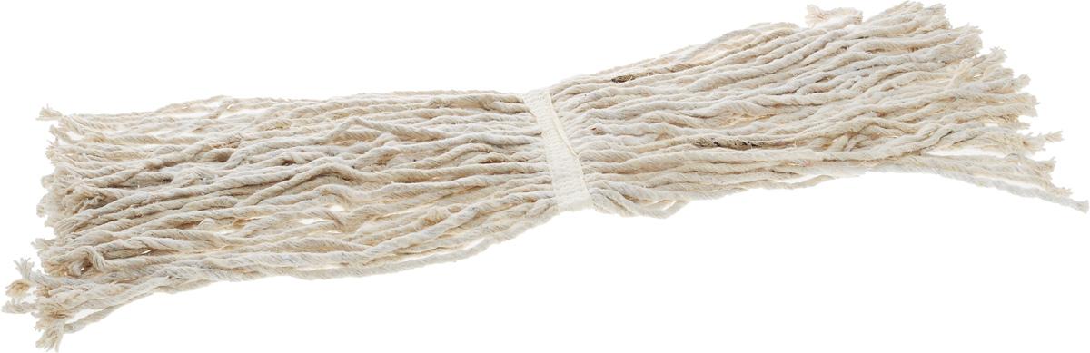 Насадка для швабры Мультидом ЛентяйкаHC58-41Сменная насадка для швабры Мультидом Лентяйка выполнена из натурального сырья (100% хлопок). Прекрасно подходит для любых напольных покрытий. Отлично собирает влагу, грязь и пыль, не оставляя при этом ворсинок, царапин и разводов.Сменная насадка для швабры Мультидом Лентяйка станет незаменимой в хозяйстве.Длина хлопчатобумажной веревки: 34 см.