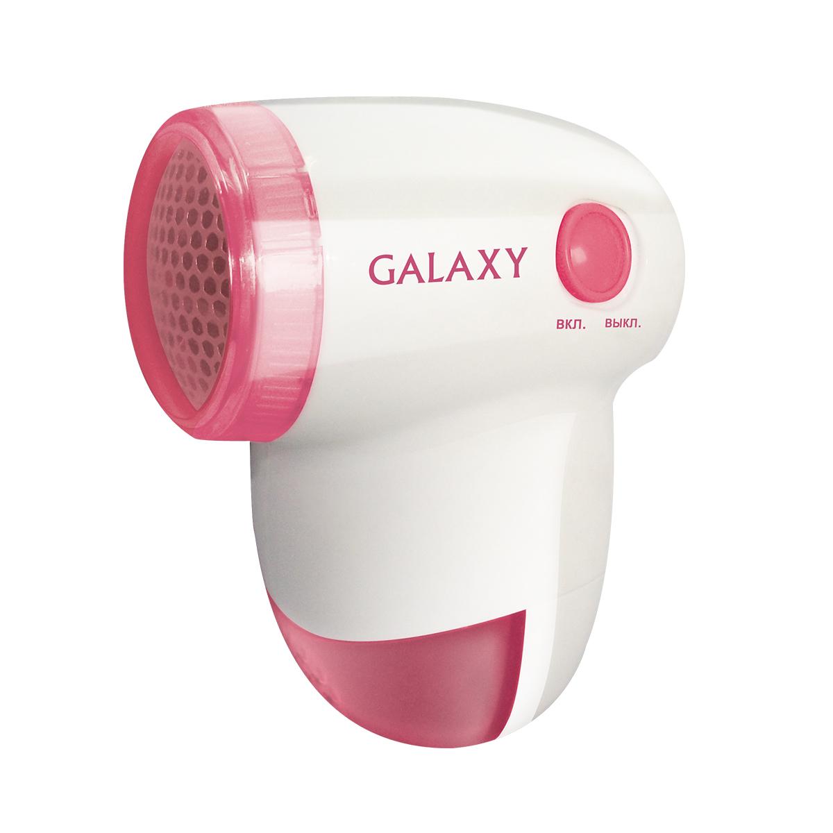 Galaxy GL 6301 миниклинерSS 4041Galaxy GL 6301 - компактная машинка для удаления катышков. Прибор имеет прозрачный съемный контейнер и защитную крышку. Благодаря эргономичной форме машинка удобно ложится в руку. Металлическая сетка из материала с антикоррозийным покрытием надежно захватывает узелки и ворс, которые со временем образуются на ткани. Galaxy GL 6301 питается от стандартных батареек АА. Данную модель можно брать с собой в путешествие, поскольку компактный размер позволяет хранить его в небольшом кармане дорожной сумки.Питание: 2 батарейки типа АА (в комплект не входят)Стальные лезвия