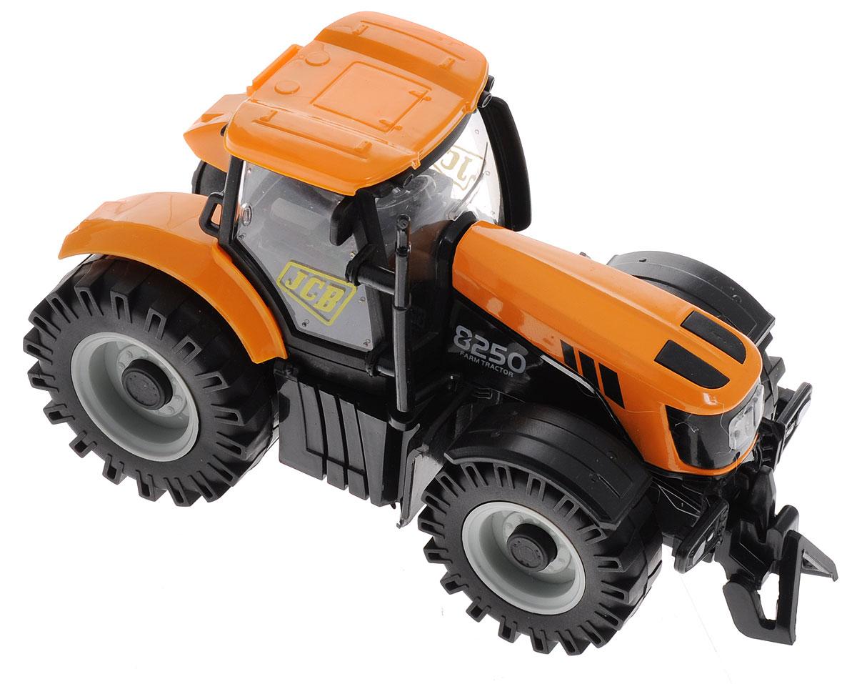 Junfa Toys Трактор инерционный Happiness Farm tomy farm приключения трактора джонни и поросенка на ферме