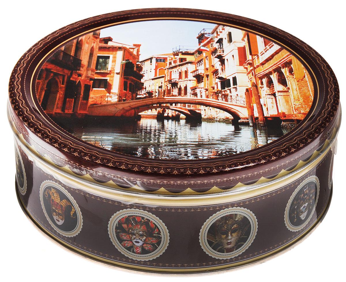 Monte Christo Венеция печенье с кусочками шоколада, 400 г0120710Monte Christo Венеция - 100% сдобное печенье с кусочками шоколада. Упаковано в металлическую банку, оформленную ярким рисунком. Такое печенье станет оригинальным подарком к любому значимому событию.