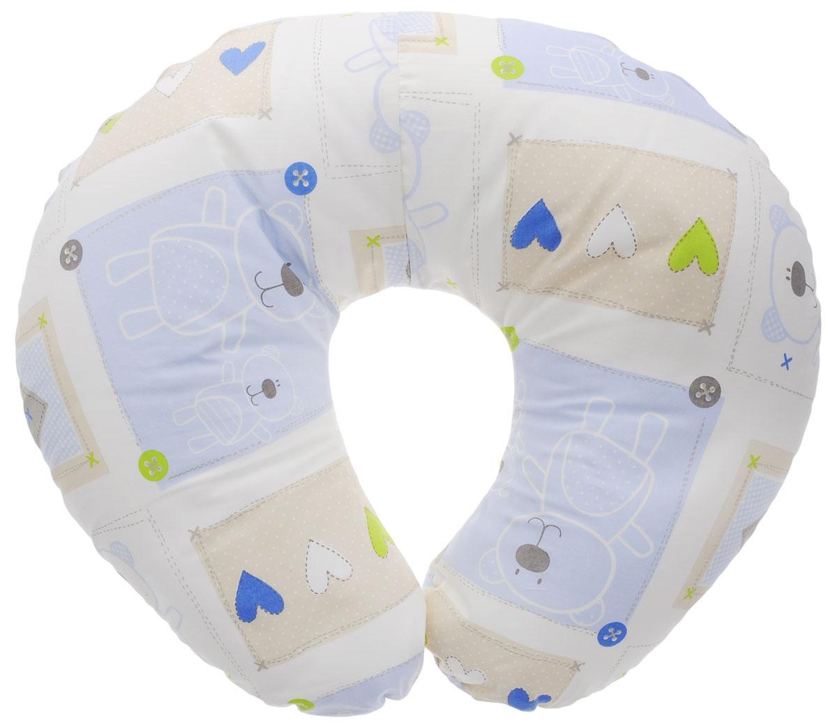 Plantex Подушка для кормящих и беременных мам Comfy Small Мишка и сердечкиС 75х140 холо бел розыМногофункциональная подушка Plantex Comfy Small идеальна для удобства ребенка и его родителей. Зачастую именно эта модель называется подушкой для беременных. Ведь она создана именно для будущих мам с учетом всех анатомических особенностей в этот период. На любом сроке беременности она бережно поддержит растущий животик и поможет сохранить комфортное и безопасное положение во время сна.Подушка идеально подходит для кормления уже появившегося малыша. Позже многофункциональная подушка поможет ему сохранить равновесие при первых попытках сесть.Чехол подушки выполнен из 100% хлопка и снабжен застежкой-молнией, что позволяет без труда снять и постирать его. Наполнителем подушки служат полистироловые шарики - экологичные, не деформируются сами и хорошо сохраняют форму подушки.Подушка для кормящих и беременных мам Plantex Comfy Small - это удобная и практичная вещь, которая прослужит вам долгое время.Подушка поставляется в сумке-чехле.При использовании рекомендуется следующий уход: наволочка - машинная стирка и глажение, подушка с наполнителем - ручная стирка.