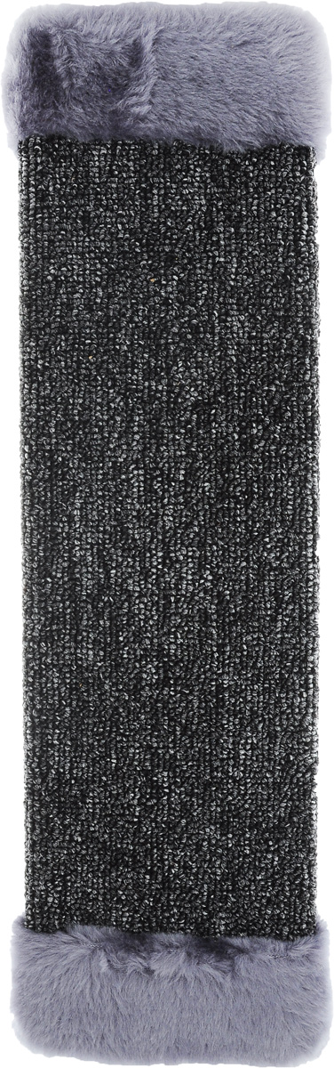 Когтеточка ЗооМарк, настенная, цвет: серый, 57 х 13 х 3,5 см0120710Настенная когтеточка ЗооМарк предназначена для стачивания когтей вашей кошки и предотвращения их врастания. Волокна ковролина обеспечивают естественный уход за когтями питомца. Когтеточка позволяет сохранить неповрежденными мебель и другие предметы интерьера.Длина когтеточки: 57 см.Длина рабочей части: 48 см.