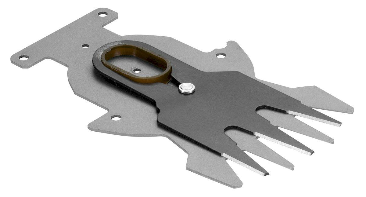 Нож запасной Gardena для аккумуляторного кустореза, 8 см2615S540JAНож запасной Gardena выполнен из металла и предназначен для аккумуляторного кустореза ContourCut.Рабочая ширина - 8 см.