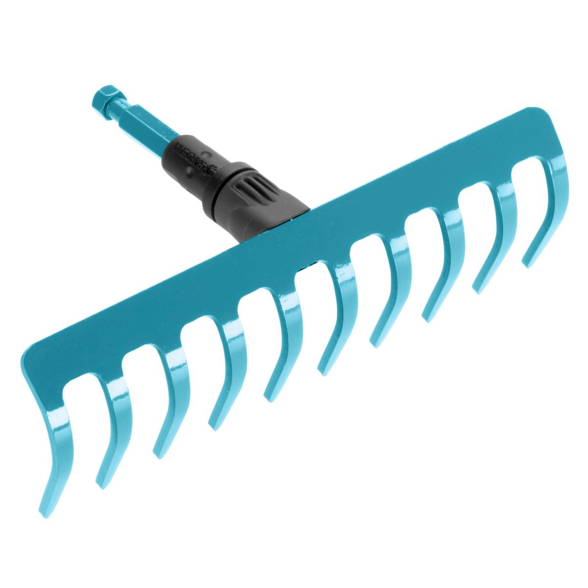 Грабли Gardena, без ручки, 25 см531-402Грабли Gardena выполнены из высококачественной стали с покрытием из дюропласта, которое обеспечивает оптимальную защиту инструмента от коррозии. Грабли представляют собой практичный многофункциональный инструмент, который идеально подходит для очистки, обработки и выравнивания почвы. Грабли Gardena могут использоваться с любой ручкой, однако рекомендуется использовать ручку длиной 150 см, в зависимости от роста пользователя. Рабочая ширина граблей - 25 см (10 зубьев).