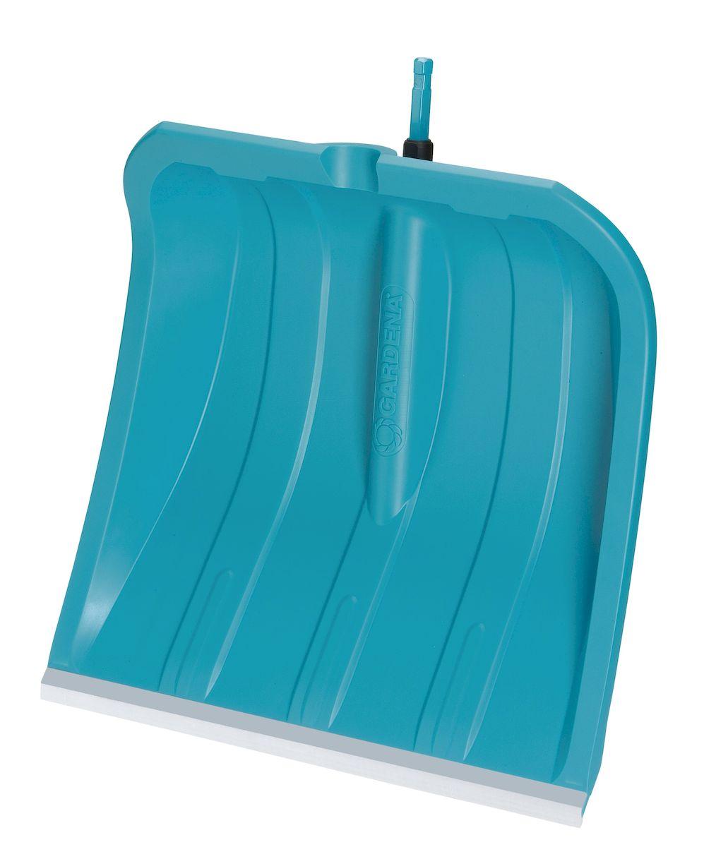 Gardena Лопата для уборки снега 40 см с кромкой из нержавеющей стали790009Уборка снега, высококачетсвенный пластик; устойчивость к морозу до -40 градусов и соли, рабочая ширина 40см, рекомендуемая длина ручки 130см (3734-20). Бесшумная, износостойкая пластиковая кромка, неповреждающая поверхность. Идеальна подходит для неровных поверхностей, таких как бетон или асфальт.