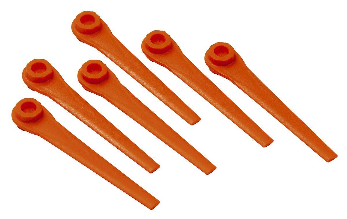 Лезвия запасные Gardena для триммера AccuCut 400 Li, AccuCut 450 Li и AccuCut2609003869Ножи запасные Gardena предназначены для турботриммеров AccuCut 400 Li, AccuCut 450 Li и AccuCut. Замена ножа выполняется очень легко. В одном комплекте 20 ножей. При своевременной замене ножа результаты кошения всегда высоки.
