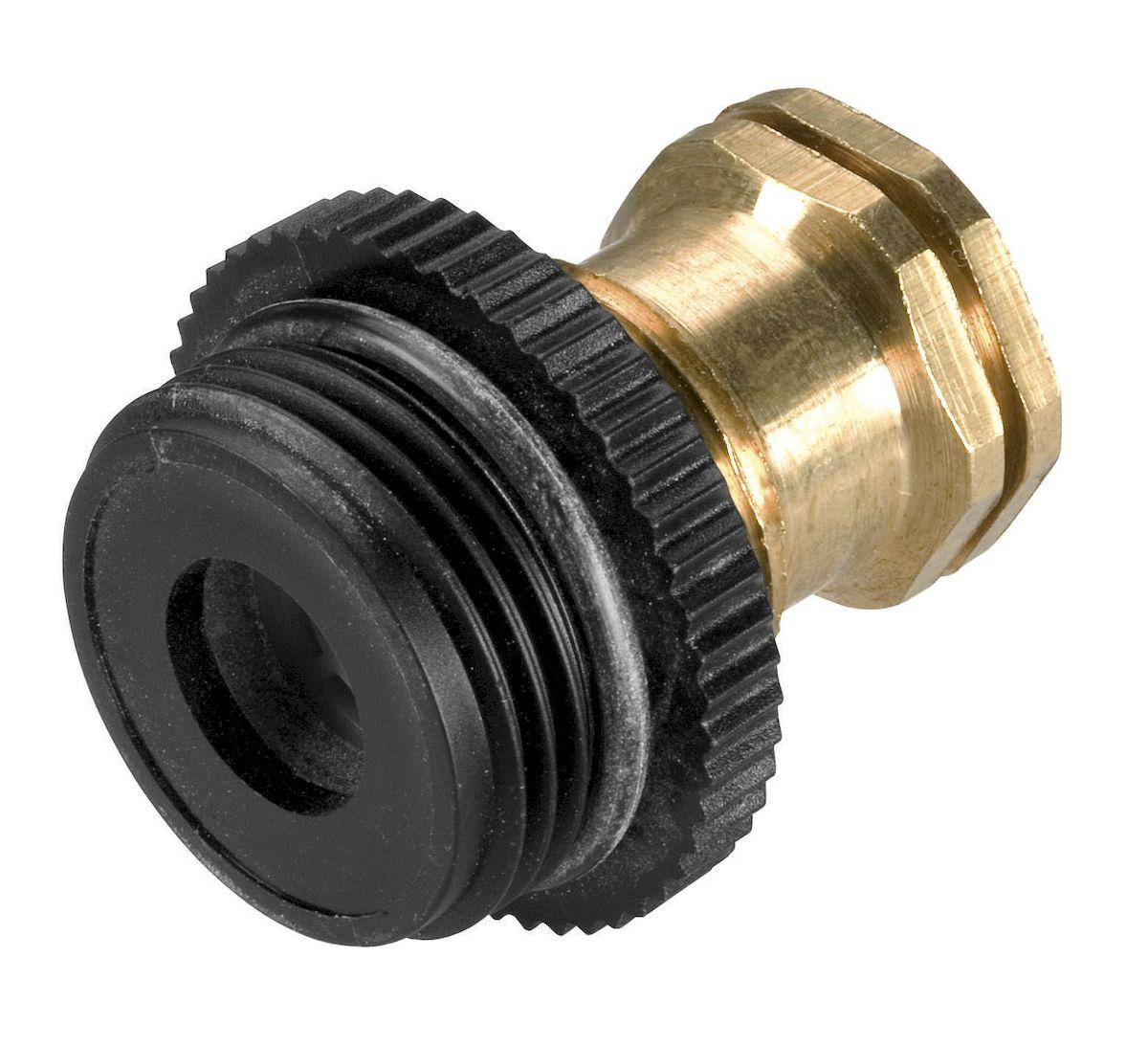 Дренажный клапан Gardena02760-37.000.00Дренажный клапан Gardena, входящий в систему дождевания Gardena, предотвращает промерзание подземных частей системы. Эта задача решается путем автоматического дренажа при отключении системы. Клапан открывается если давление воды в системе падает ниже величины порядка 0,2 бар. Дренажные клапаны следует устанавливать в самой нижней точке системы полива и, для обеспечения безопасного дренажа, они должны быть установлены в слое промытого грубого гравия. Соединение осуществляется за счет резьбы 3/4.